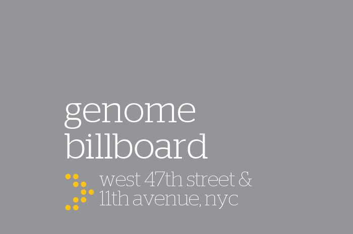 Our billboard on 11th Avenue